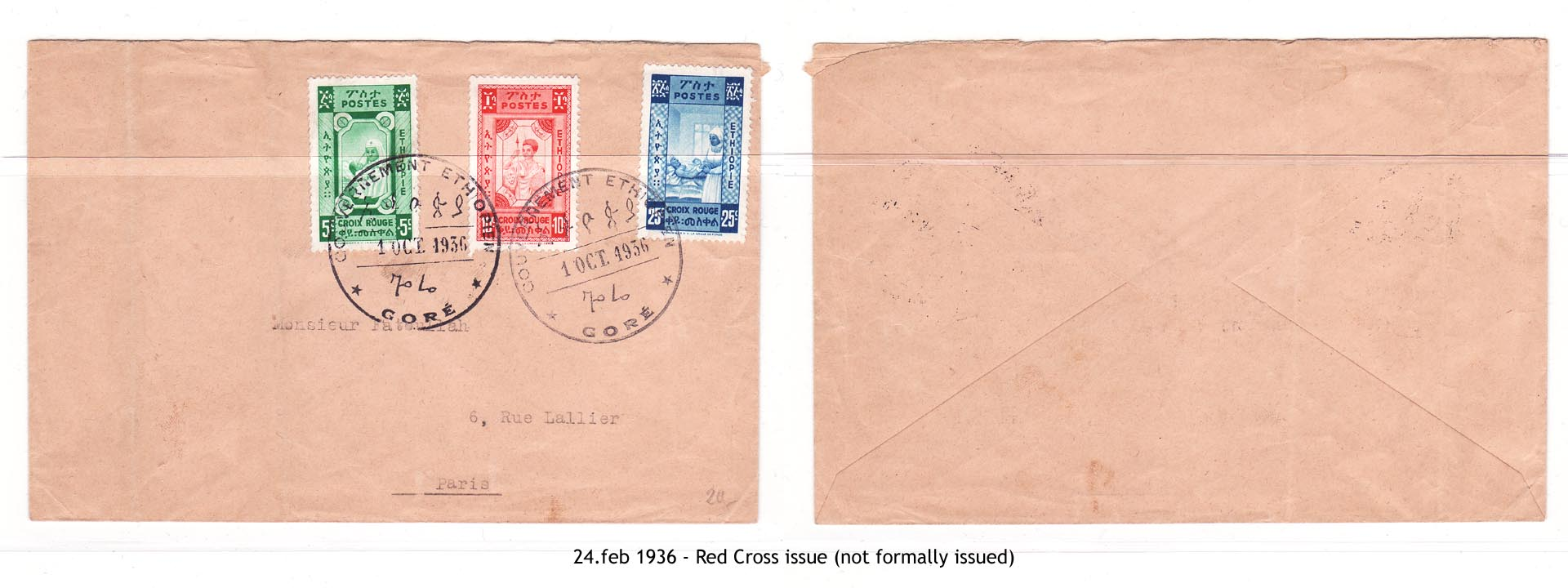 19360501 - Red Cross issue