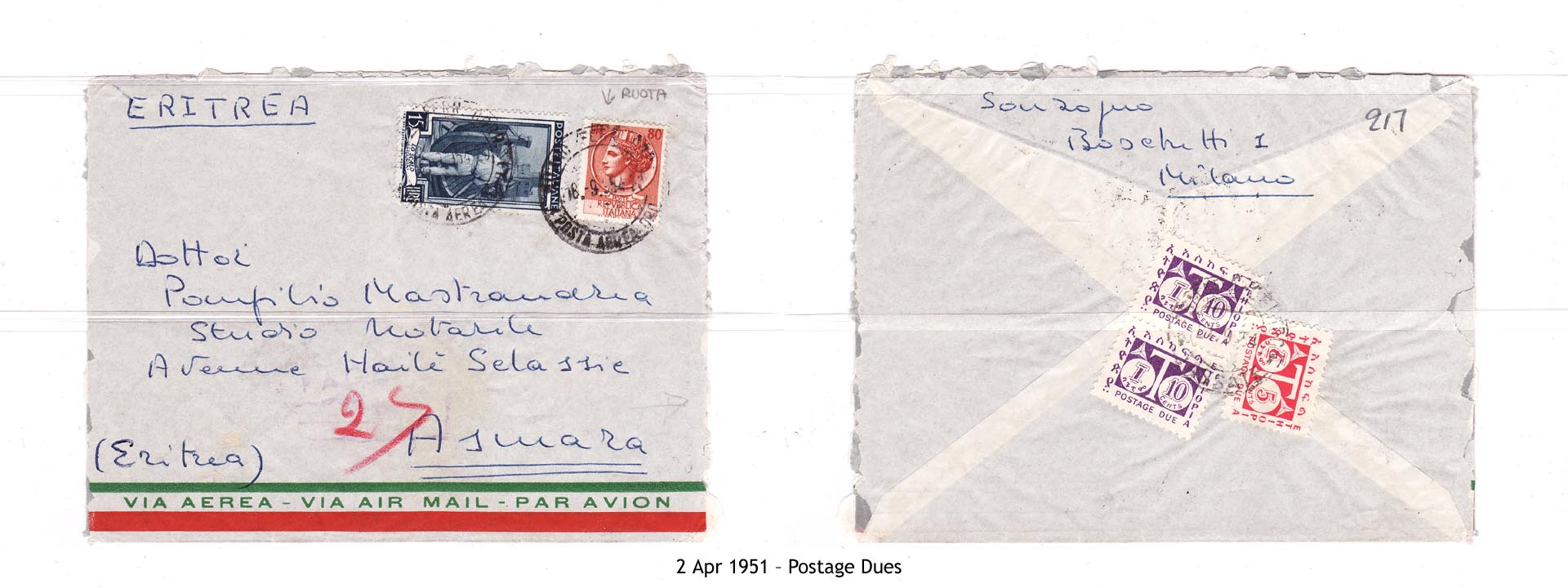19510402 – Postage Dues