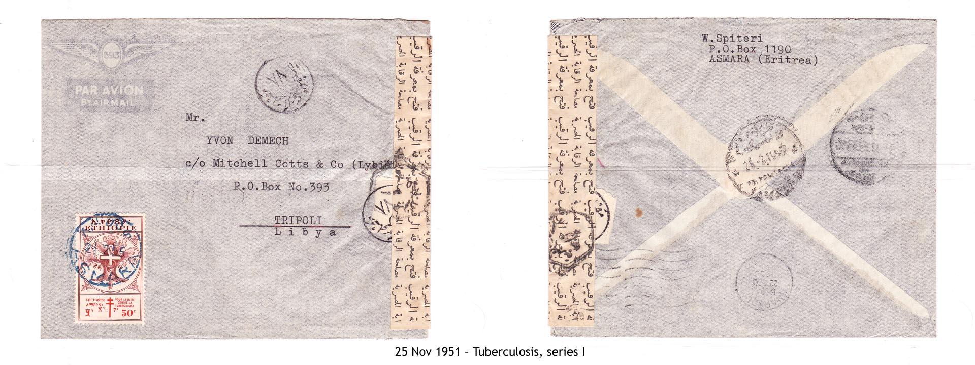 19511125 – Tuberculosis, series I