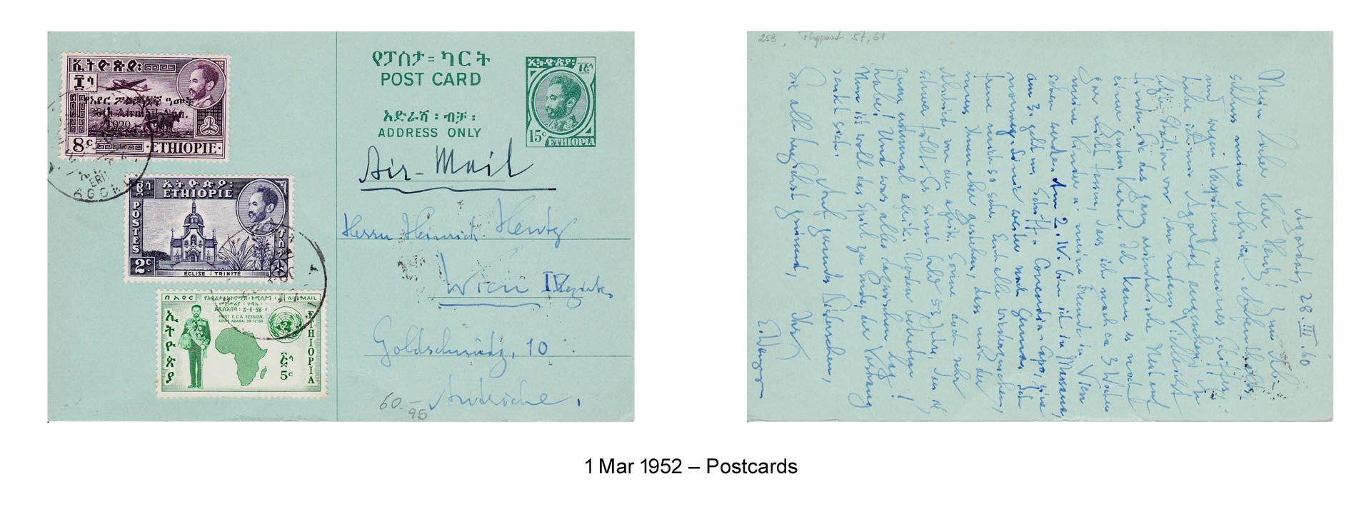 19520301 – Postcards