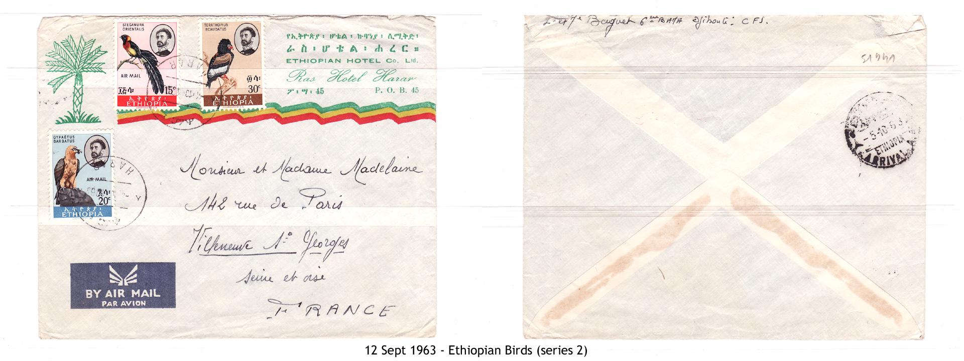 19630912 – Ethiopian Birds (series 2)