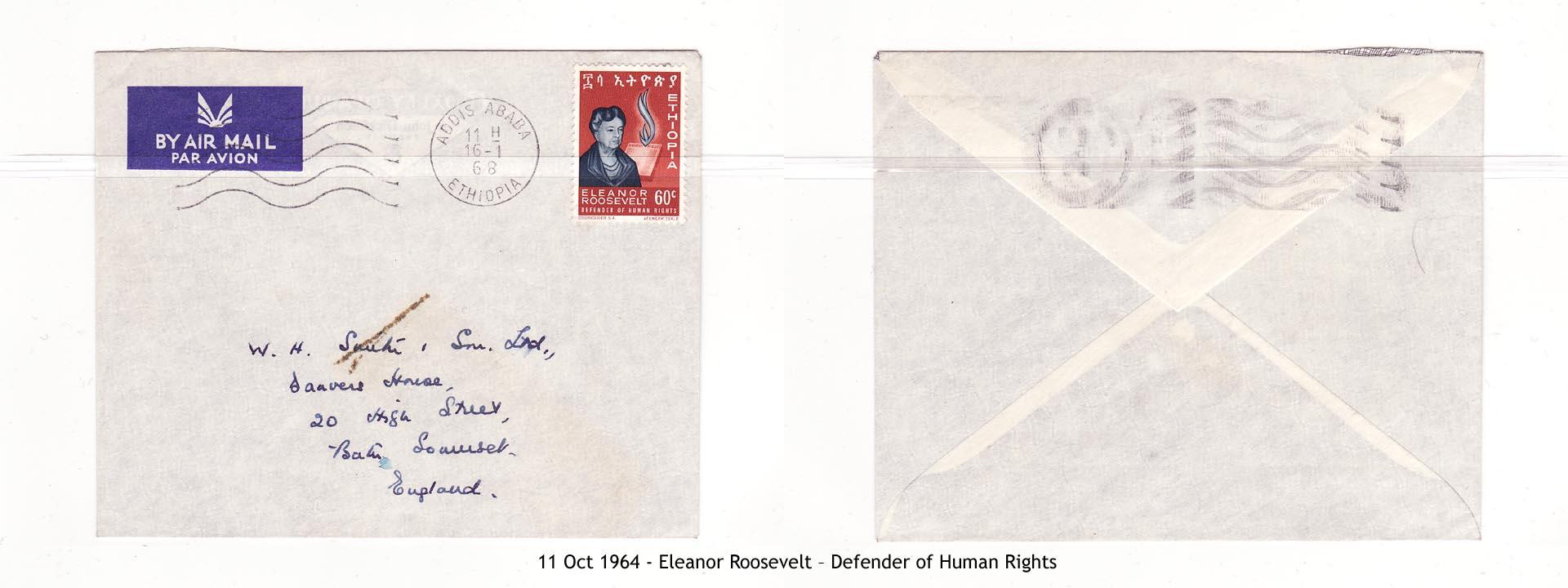 19641011 – Eleanor Roosevelt – Defender of Human Rights