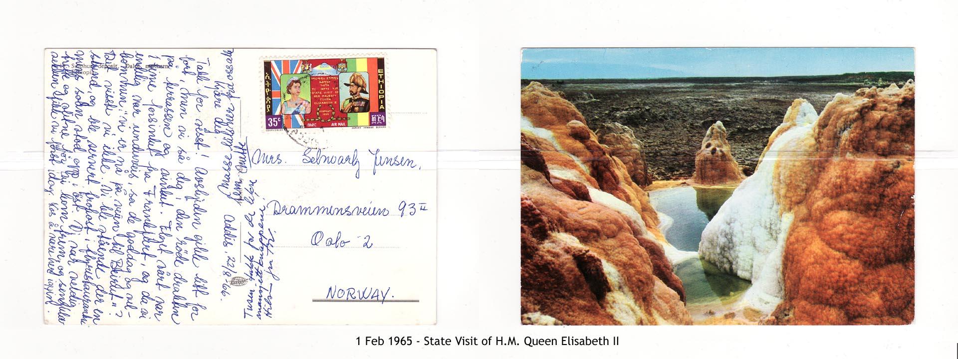 19650201 – State Visit of H.M. Queen Elisabeth II