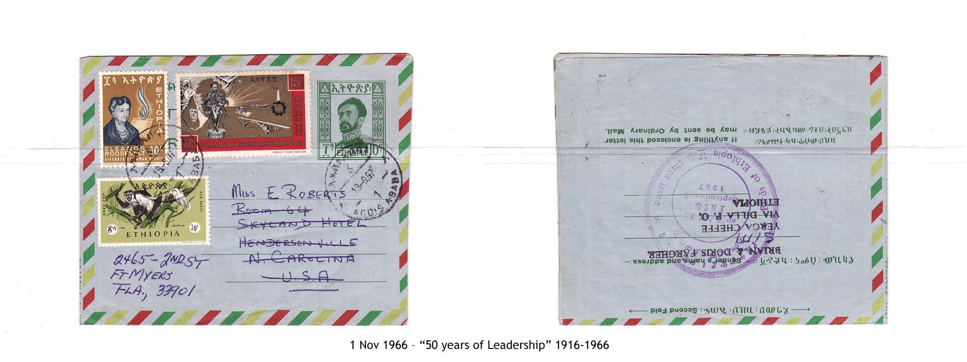"""19661101 – """"50 years of Leadership"""" 1916-1966"""