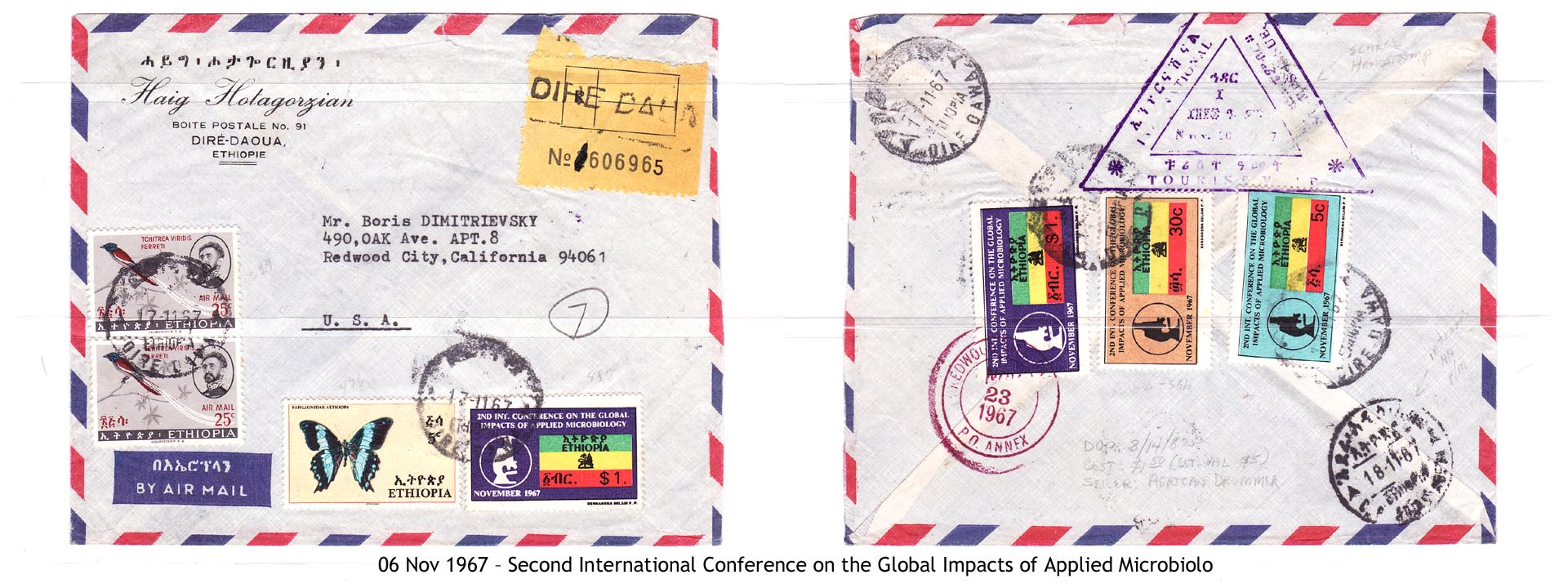 19671106 – Second International Conference on the Global Impacts of Applied Microbiology
