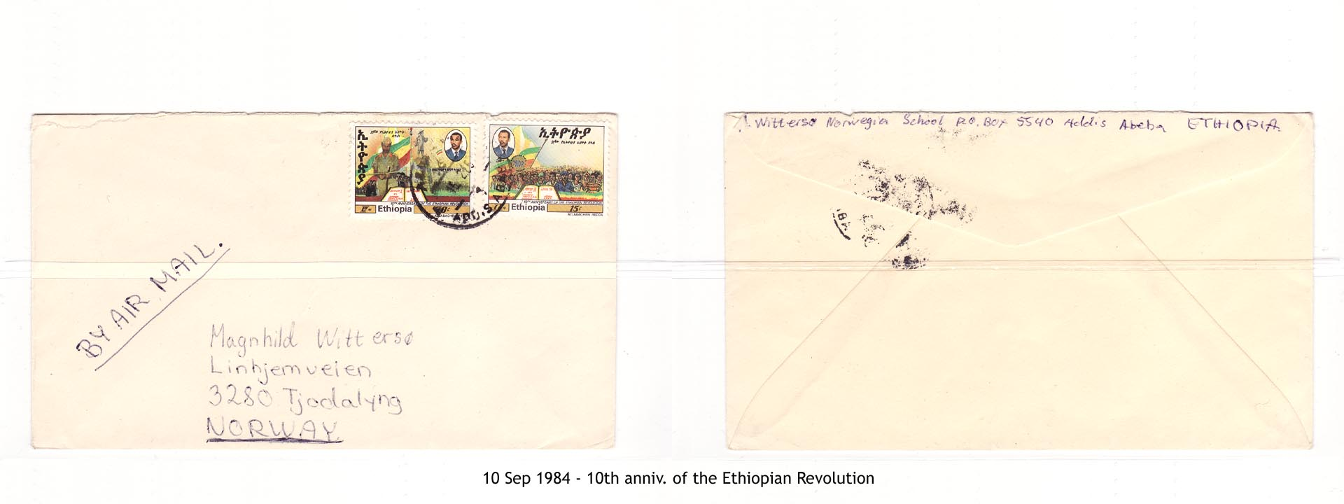 19840910 - 10th anniv. of the Ethiopian Revolution