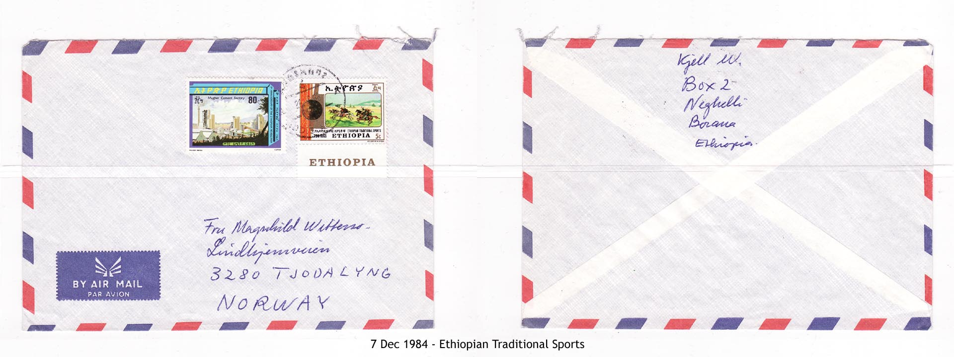 19841207 - Ethiopian Traditional Sports