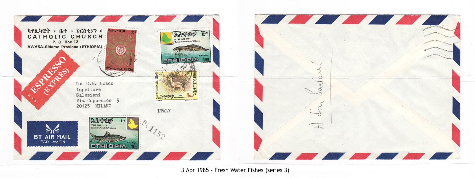 19850403 - Fresh Water Fishes of Ethiopia (series 3)