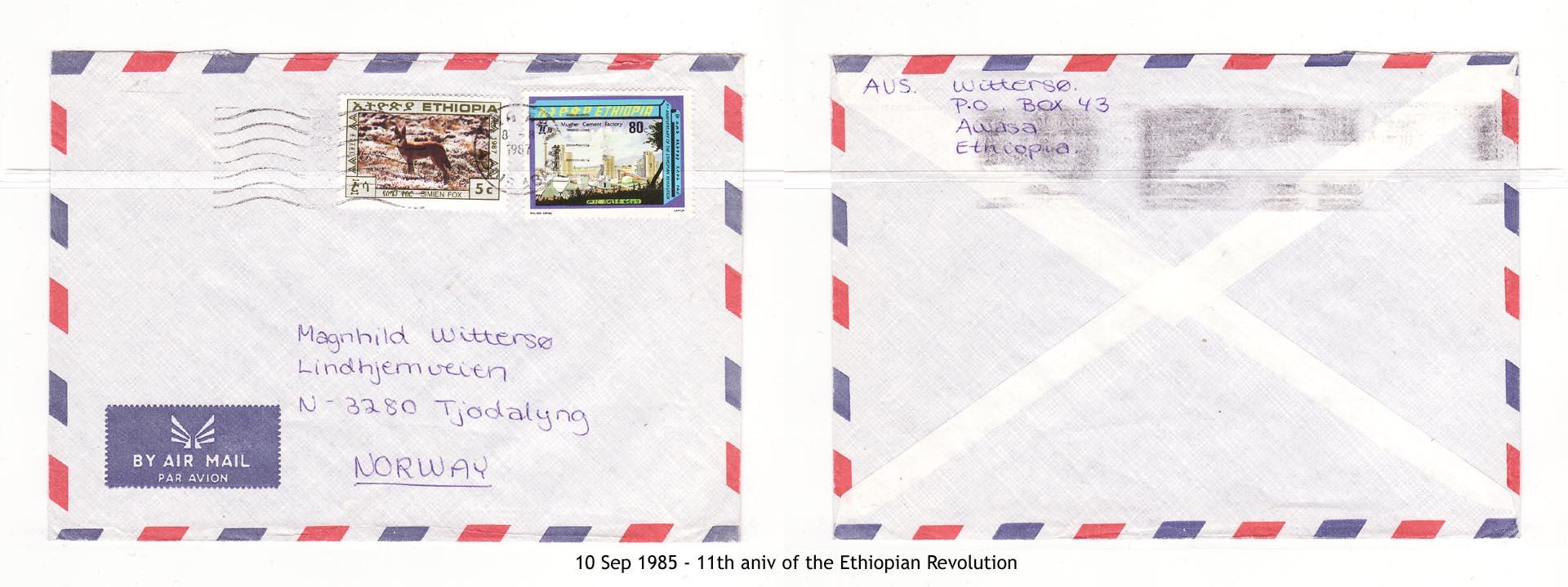 19850910 - 11th aniv of the Ethiopian Revolution