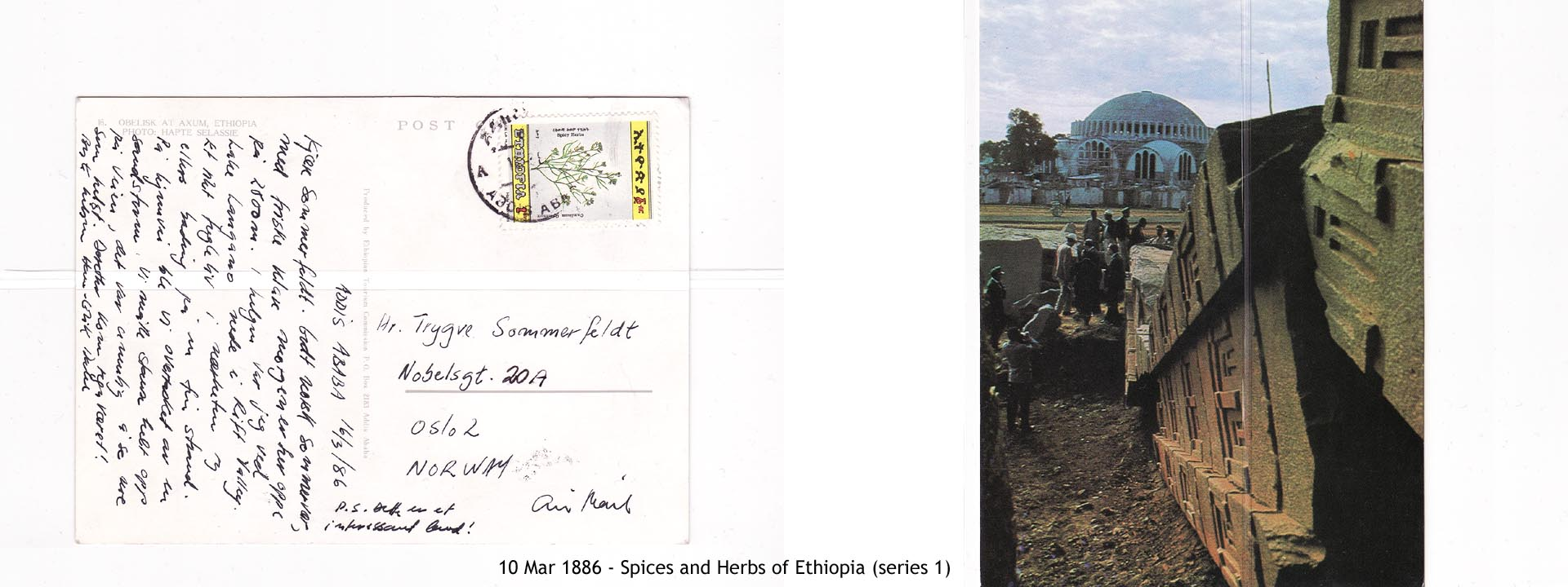 19860310 - Spices and Herbs of Ethiopia (series 1)