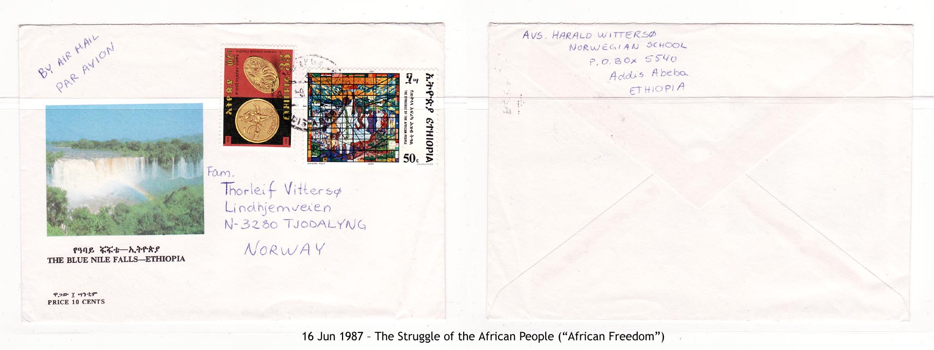 "19870616 – The Struggle of the African People (""African Freedom"")"