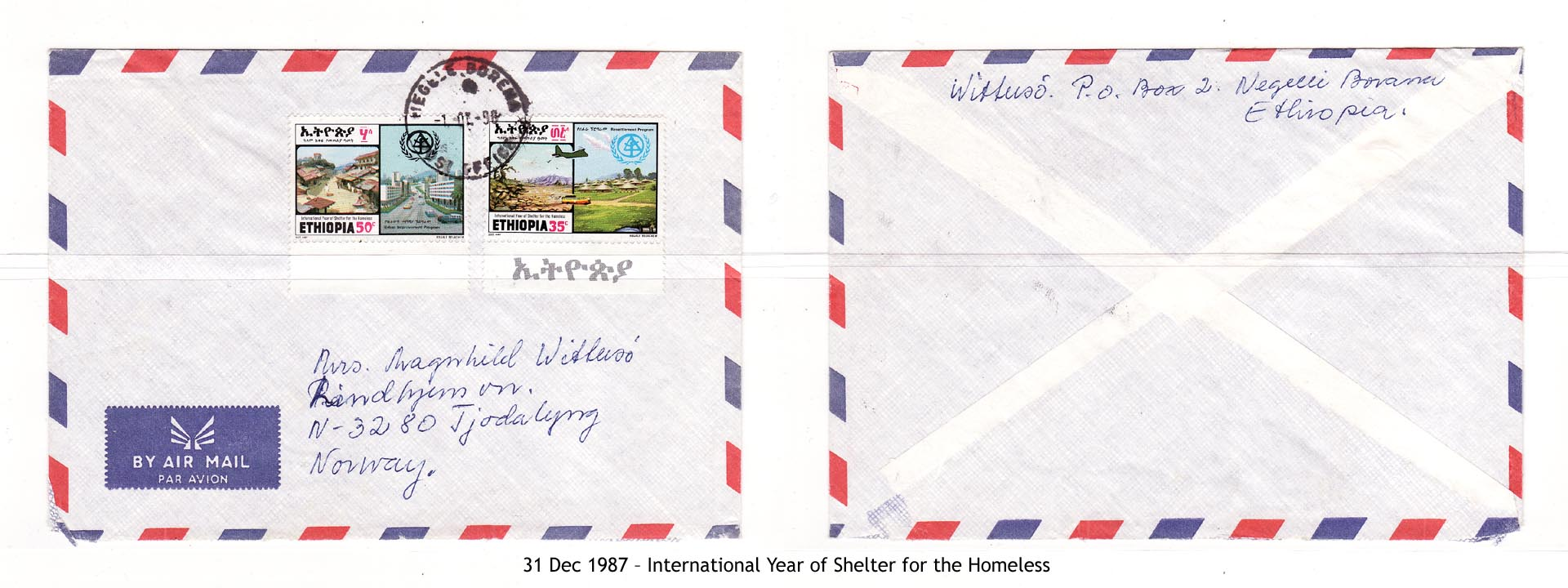 19871231 – International Year of Shelter for the Homeless