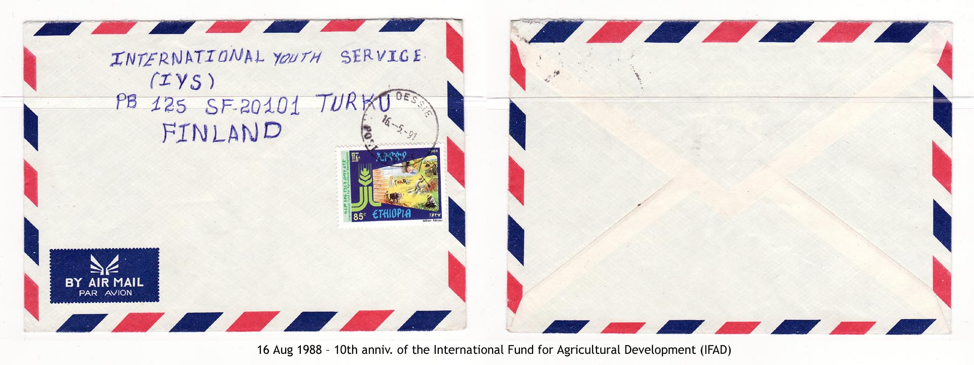 19880816 – 10th anniv. of the International Fund for Agricultural Development (IFAD)