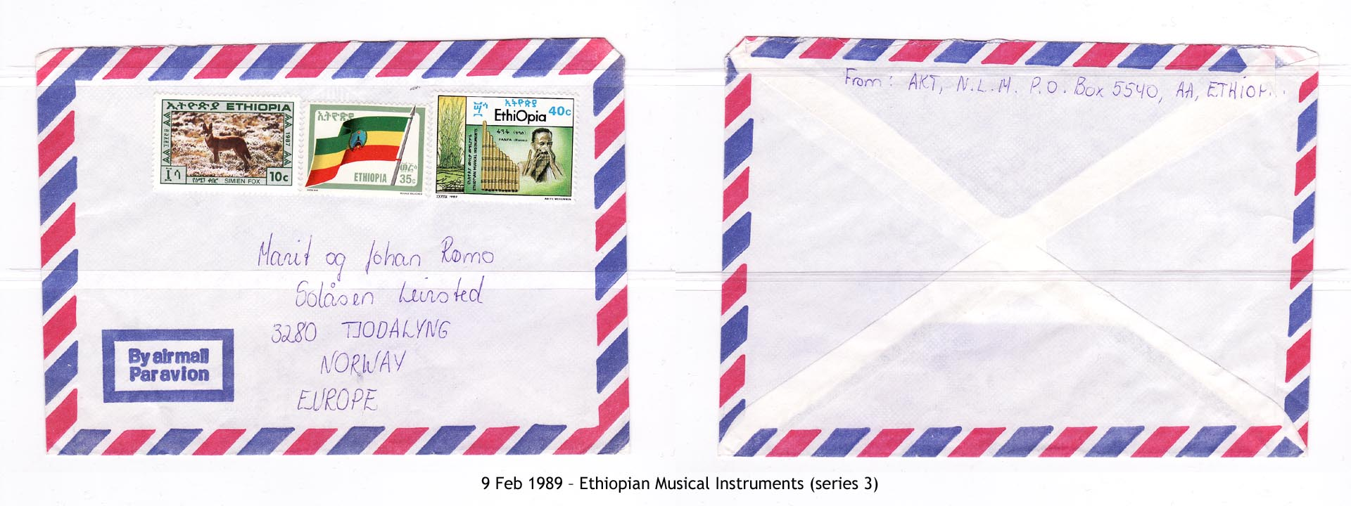 19890209 – Ethiopian Musical Instruments (series 3)