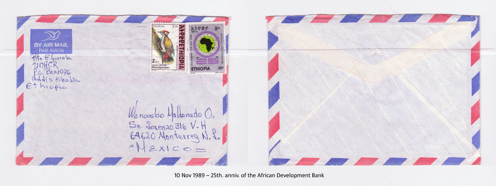 19891110 – 25th. anniv. of the African Development Bank