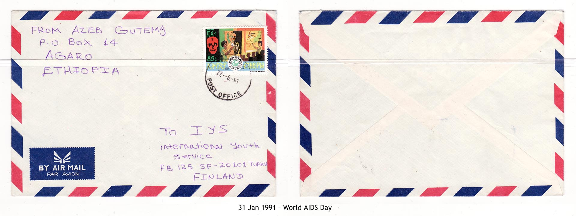 19910131 – World AIDS Day