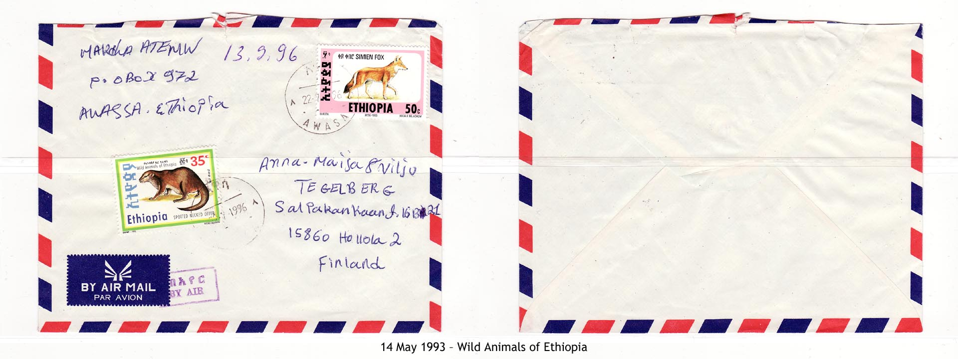 19930514 – Wild Animals of Ethiopia