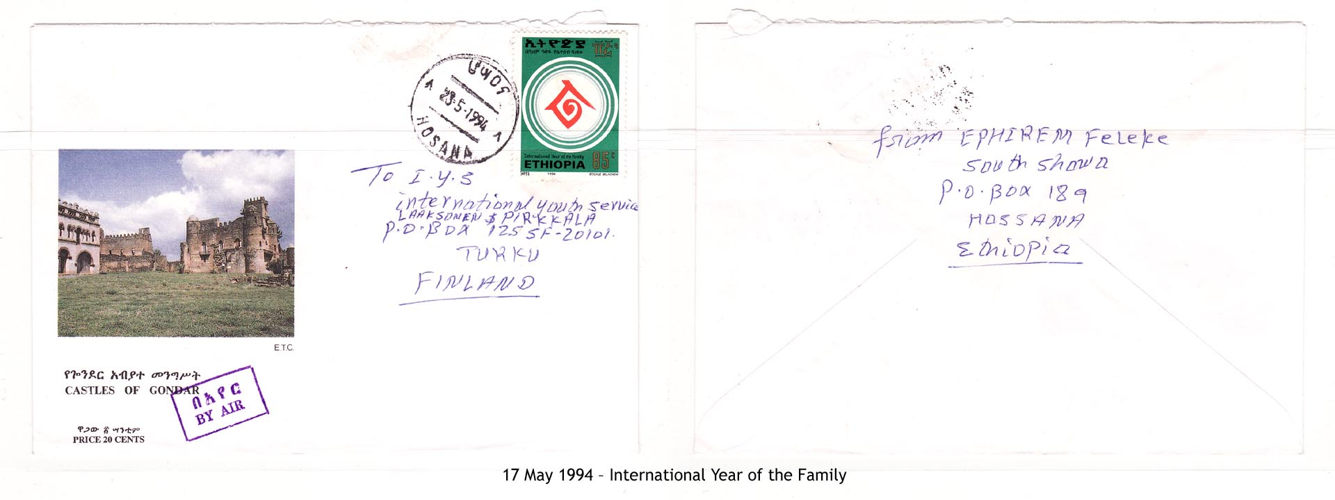 19940517 – International Year of the Family