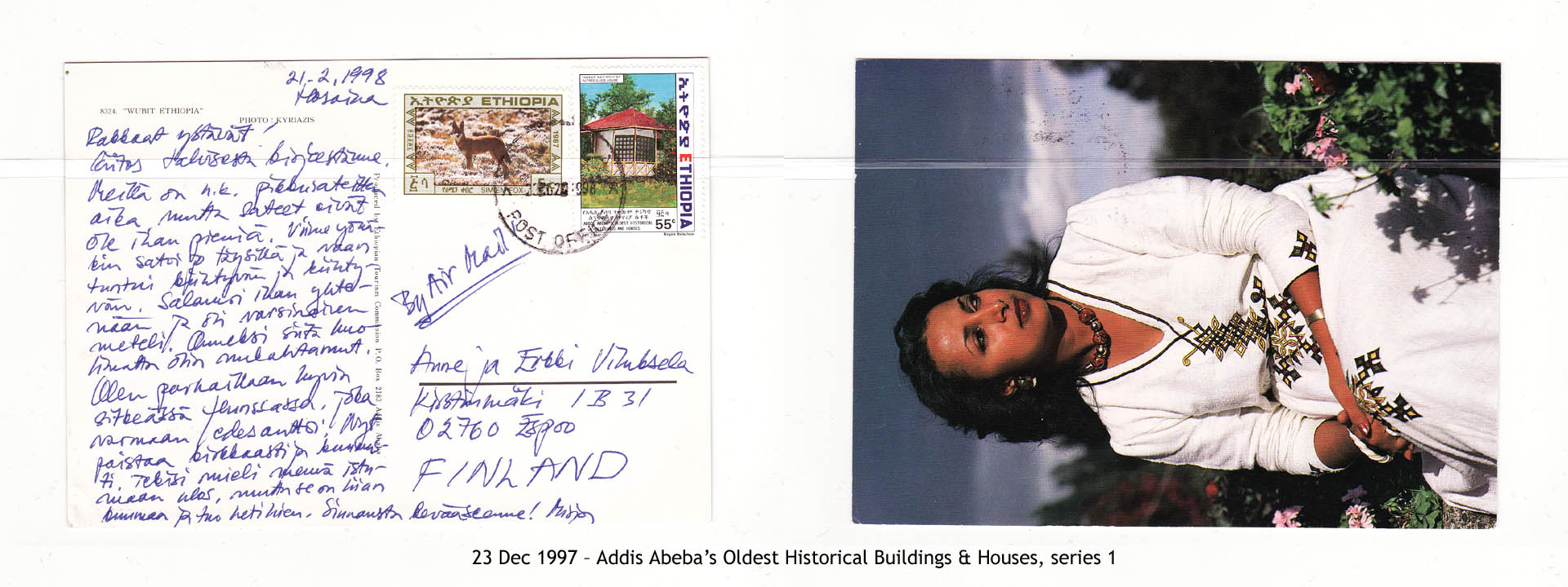19971223 – Addis Abeba's Oldest Historical Buildings & Houses, series 1