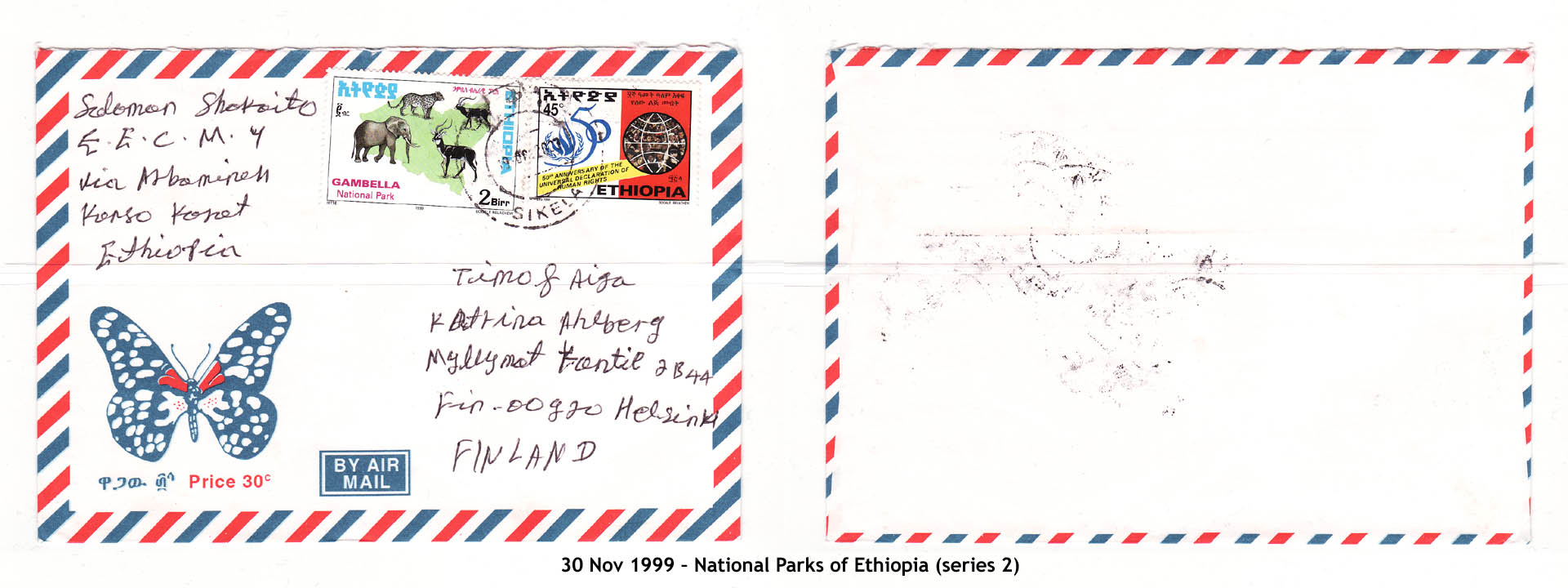 19991130 – National Parks of Ethiopia (series 2)