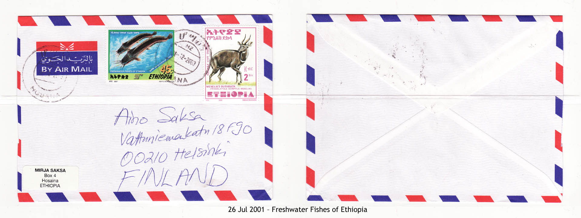 20010726 – Freshwater Fishes of Ethiopia