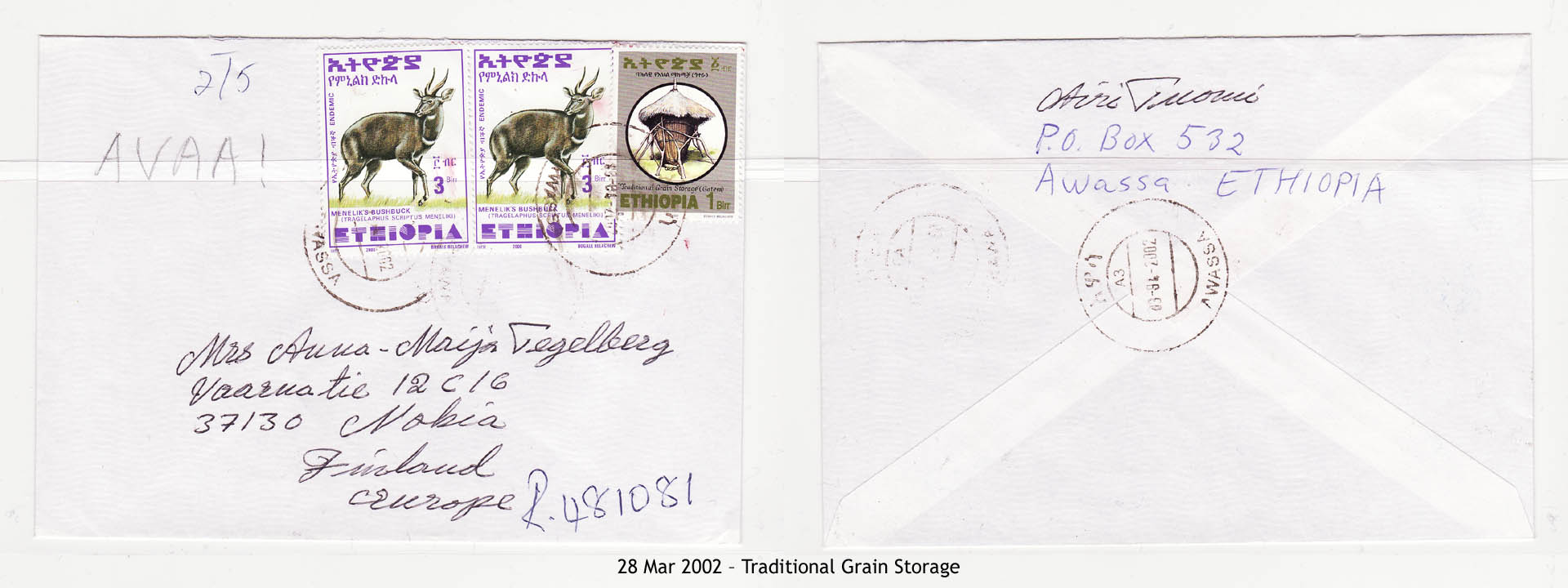 20020328 – Traditional Grain Storage