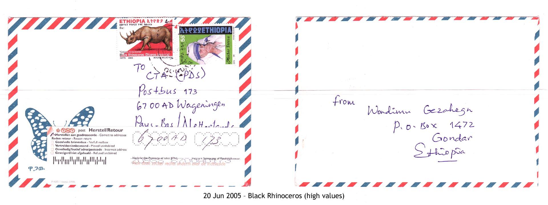 20050620 – Black Rhinoceros (high values)