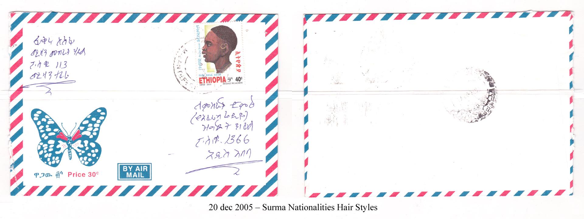 20051220 - Surma Nationalities Hair Styles