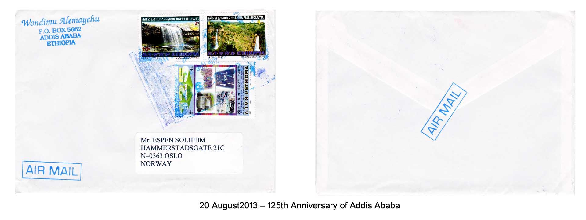 20130820 – 125 Anniversary of Addis Ababa