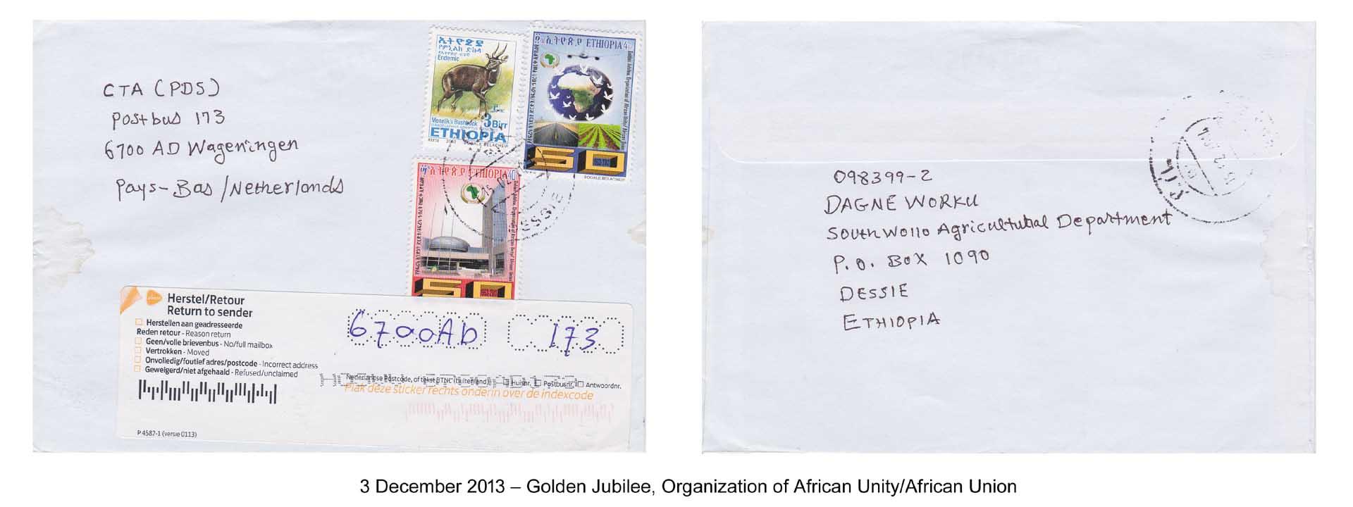 20131203 – Golden Jubilee, Organization of African Unity