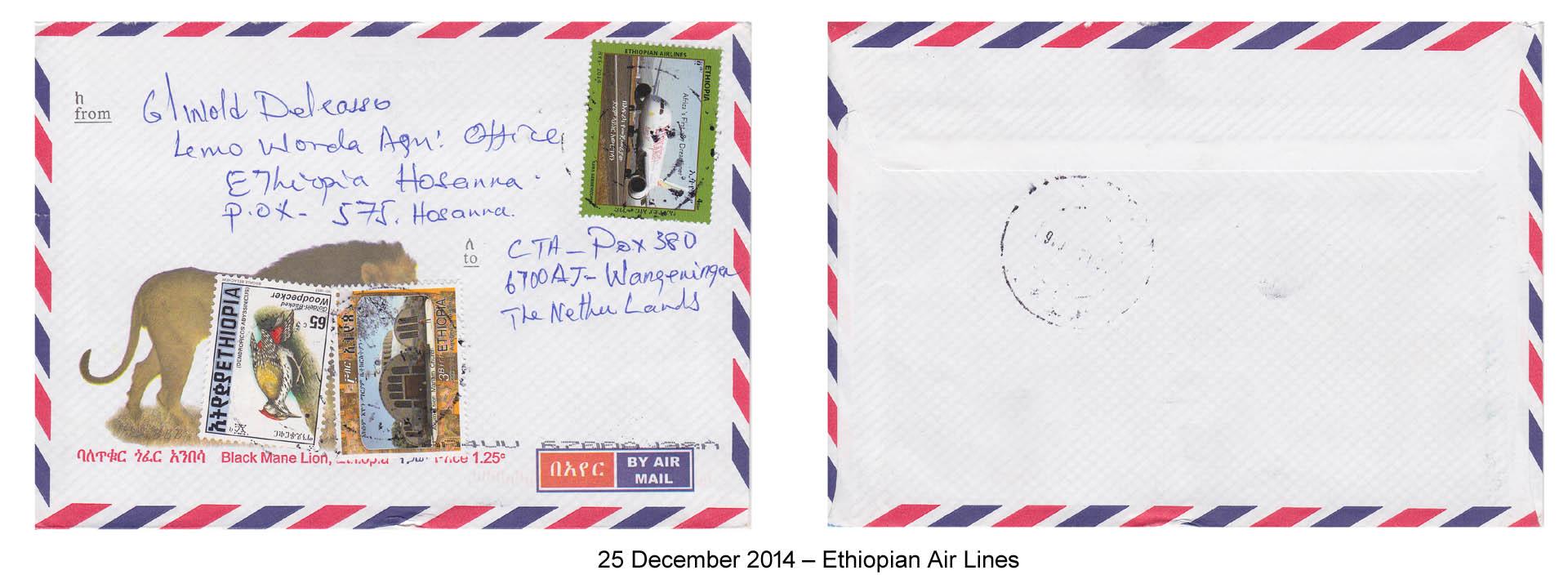 20141225 – Ethiopian Air Lines