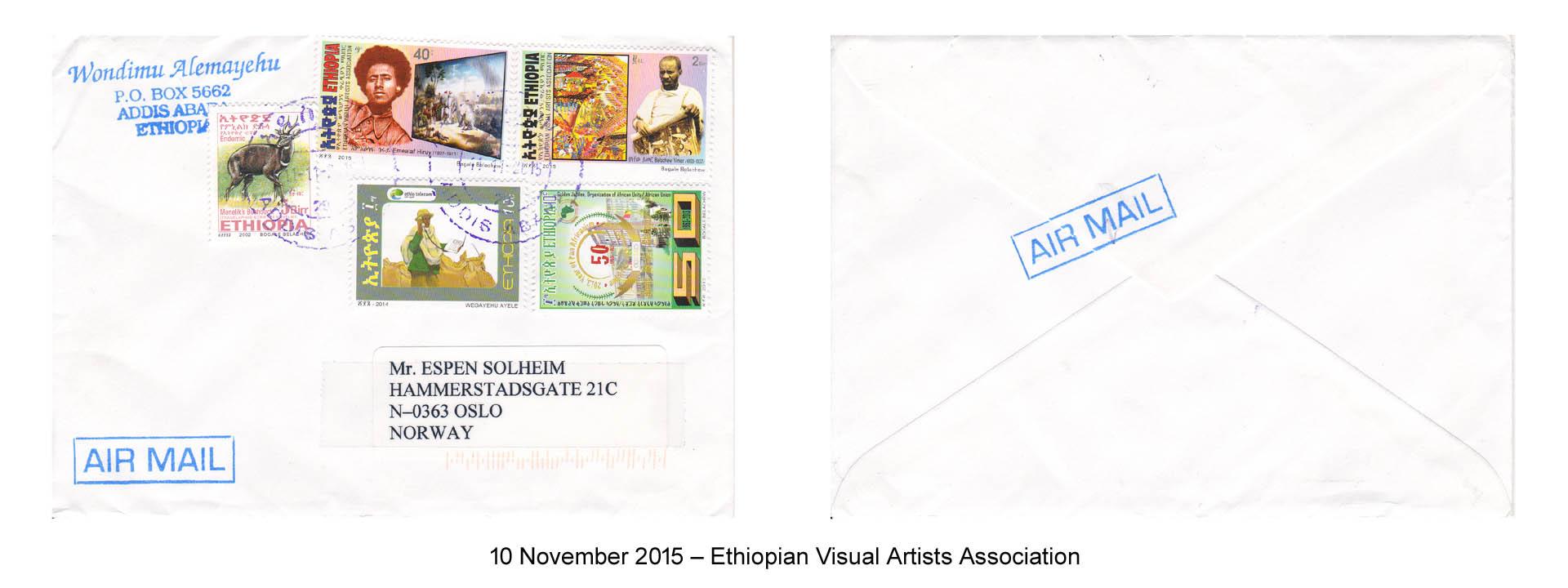 20151110 – Ethiopian Visual Artists Association