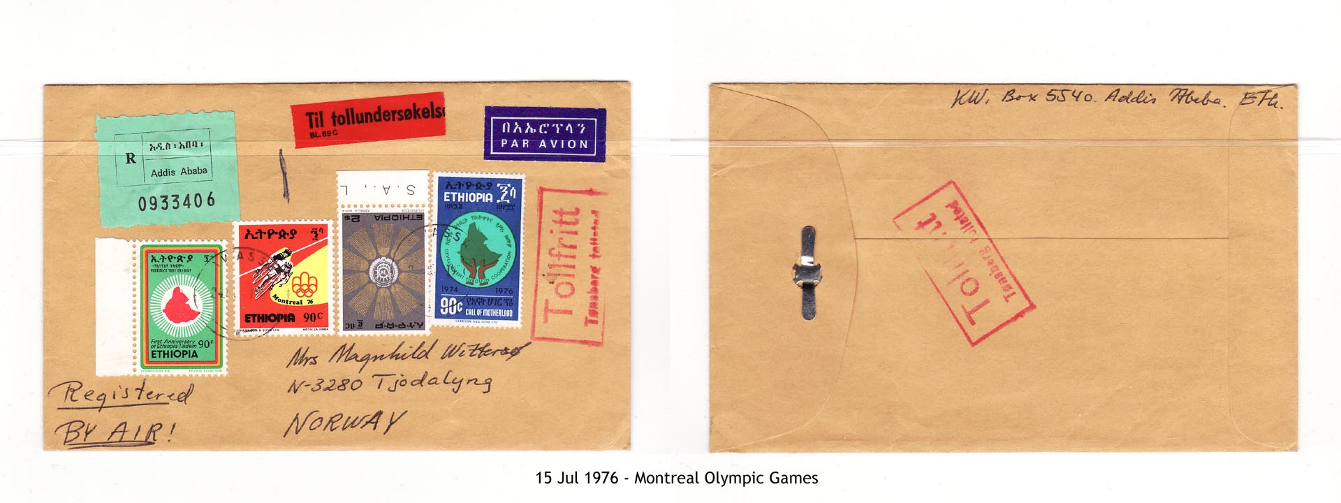 19760715 - Montreal Olympic Games